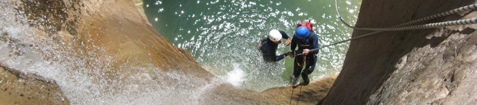 Canyoning en Sierra de Guara / Guara-Canyoning